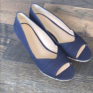 Kelly & Katie Rope Wedge Heels Size 7.5